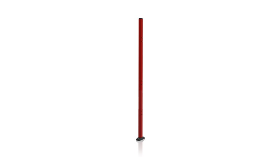 Post 50x50 2000mm RED