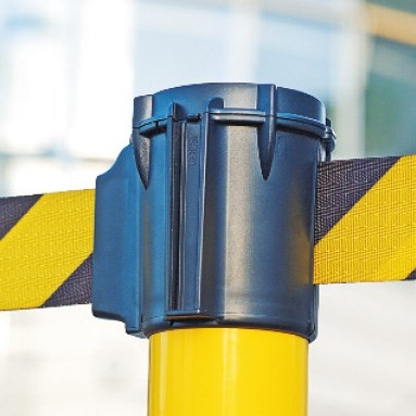 Morion warning tape posts