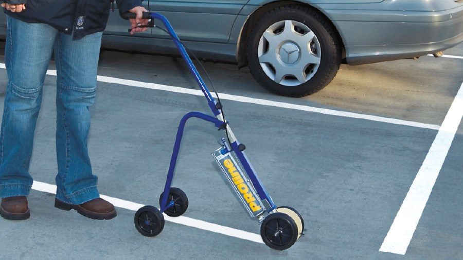 Maintaining Straight Lines Is Possible Through The Line Marking System