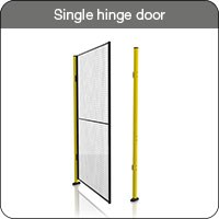 Axelent Ltd Single hinge door