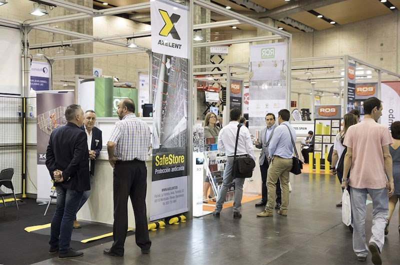 Axelent Spain exhibition Encaja