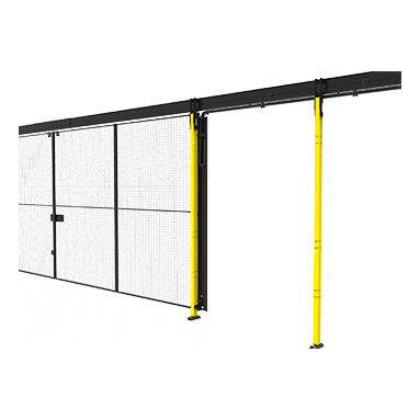 Flexible cable chain for sliding doors